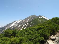 西穂高の山々2