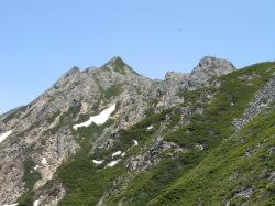 西穂高の山々3