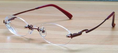 掛け心地の良いメガネ