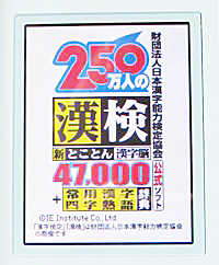 DS漢字検定