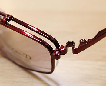 はねあげ式サングラス-複式メガネ