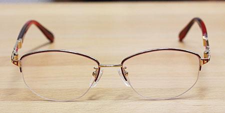 メガネの型を変える-after