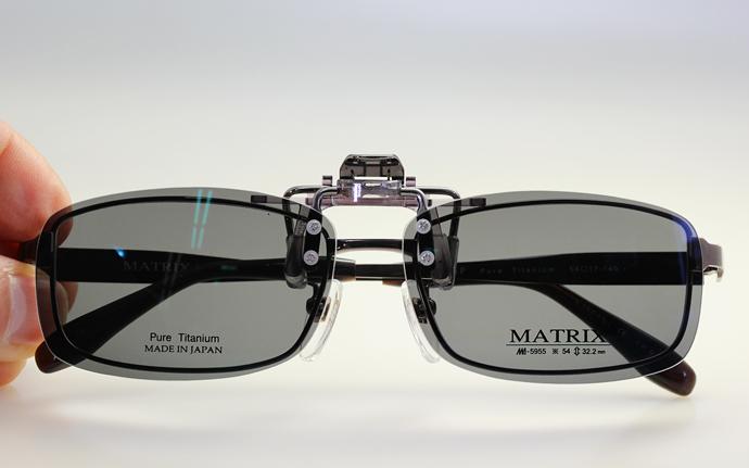 調光レンズ クリップオン式